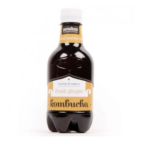Purasana - Kombucha 'fresh ginger' BIO 330 ml